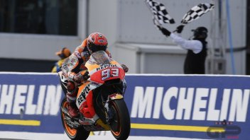 MotoGP: Marquez: More pleased with the 33 points than with the win