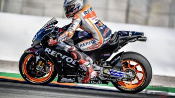 "MotoGP: Marquez promotes the new Honda engine: ""Better than 2017 version"""