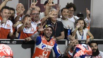 MotoGP: Petrucci: in qualifica sembrava di essere nel Far West