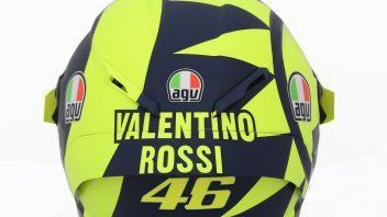 MotoGP: Valentino Rossi: it's a 70s helmet, less is better