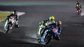 MotoGP: A cloud over a wet GP in Qatar: riders are of mixed opinions