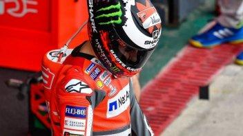 MotoGP: Lorenzo: dovremo inventarci qualcosa nel warm up