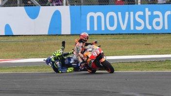 MotoGP: Marquez: ciò che pensa Rossi mi preoccupa zero