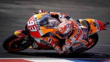 MotoGP: FP3: Marquez imbattibile anche sul bagnato