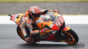 MotoGP: WUP. Marquez e Pedrosa: Honda vola sull'acqua