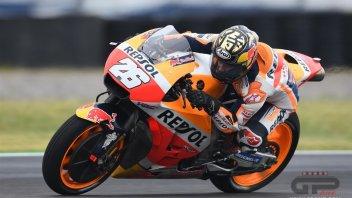 MotoGP: Pedrosa: usare le slick? non me la sono sentita