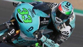 Moto3: WUP: Bastianini di misura su Bezzecchi, 4° Martin