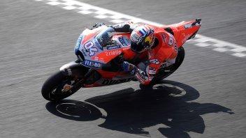 MotoGP: FP1: Dovizioso di misura su Marquez, 6° Rossi