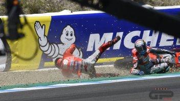 MotoGP: Dovizioso: la caduta? ho pensato solo ai punti persi
