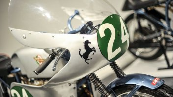 News Prodotto: Museo Ducati: in mostra tre moto di Mike Hailwood