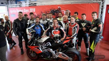 News: Capirossi apripista al Mugello ai Racers Days Aprilia