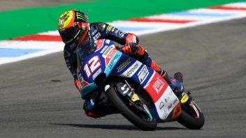 Moto3: FP3: Bezzecchi davanti a tutti, 4° Bastianini