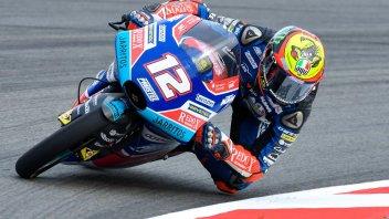 Moto3: FP2: ruggito di Bezzecchi, 4° Antonelli