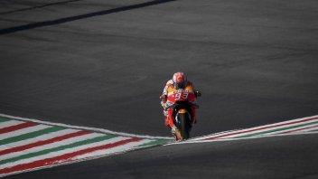 MotoGP: Al Mugello Marquez rovina la festa agli italiani ed è 1°