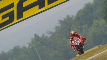 SBK: FP1: Rinaldi sfida la pioggia e batte tutti a Brno