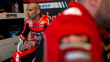 "SBK: Melandri: ""The crash? The Ducati too difficult to manage"""