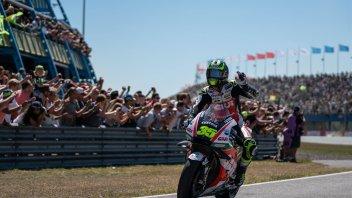 MotoGP: Crutchlow: ho passato Rossi e ho sbagliato