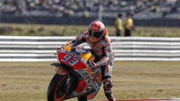 MotoGP: WUP: Marquez rullo compressore, 2° Dovizioso, 9° Rossi