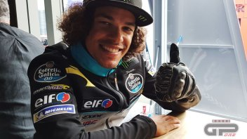 MotoGP: Morbidelli: guanto e tutore speciali per correre al Sachsenring