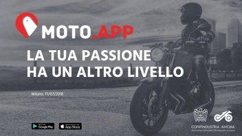 News Prodotto: MOTO.APP vi aiuta a guidare più sicuri