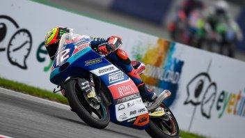 Moto3: FP3: Bezzecchi davanti a tutti, 4° Arbolino