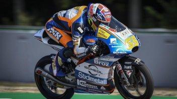 Moto3: FP1:  Oettl in vetta a Brno, frattura per Martin