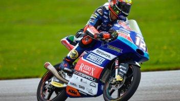 Moto3: QP: pole storica di Bezzecchi, 2° un eroico Martin