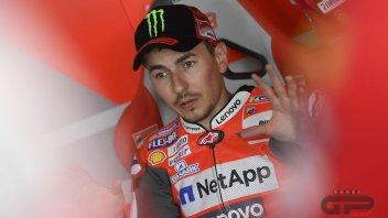 """MotoGP: Lorenzo: il telaio """"di Dovizioso"""" mi piace"""
