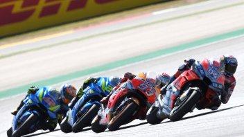 MotoGP: GP Aragon: la differita serale non decolla