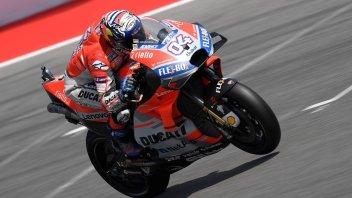 MotoGP: FP1: Poker Ducati ad Aragon, l'Asso è Dovizioso