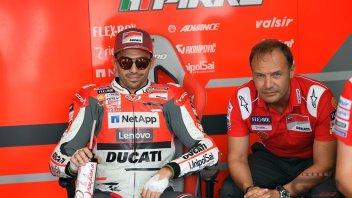 MotoGP: Pirro: l'importante è essere tornato e veloce