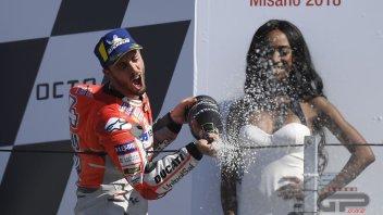 """MotoGP: Dovizioso: """"vincendo ho dato una risposta a tanta gente"""""""