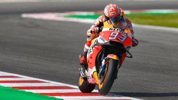 MotoGP: Marquez si prende il warm up, Dovizioso in scia