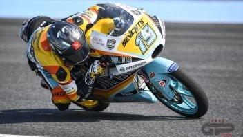 Moto3: Rodrigo ritrova la pole dopo più di un anno, 3° Bezzecchi