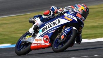 Moto3: Italian job a Buriram: vince Di Giannantonio, a terra Bezzecchi
