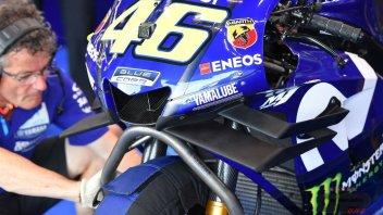 "MotoGP: A Buriram un carena ""doppia lama"" per Valentino"