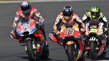 "MotoGP: Dovizioso: ""Marquez's stats are scary"""