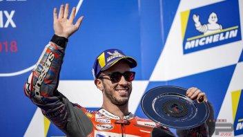 """MotoGP: Dovizioso: """"Prova superata... ma non basta"""""""