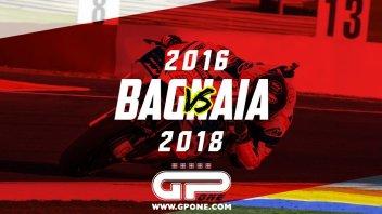 MotoGP: Bagnaia 2016 vs Bagnaia 2018: evoluzione dello stile