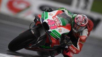 "MotoGP: Espargarò: ""L'Aprilia ha mandato un gran segnale sul bagnato"""