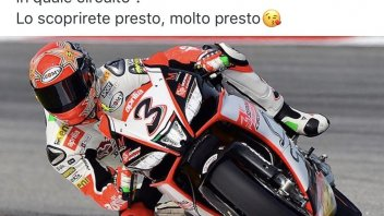 SBK: Max Biaggi back to the track!