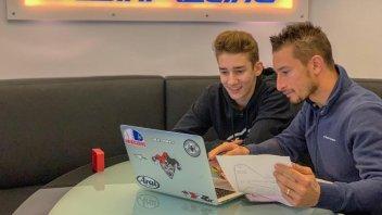 """Moto3: Poggiali: """"Insegnerò a vincere, so come si fa"""""""