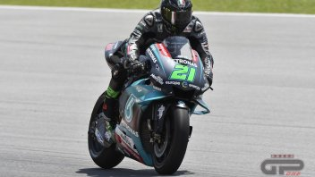 """MotoGP: Morbidelli: """"Non sono veloce ma nemmeno preoccupato"""""""