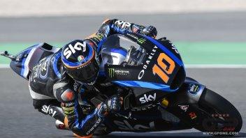 Moto2: FP1: Marini batte gli avversari ed i fastidi alla spalla