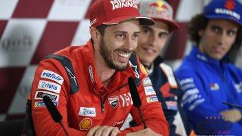 """MotoGP: Dovizioso: """"Mai così vicini, le qualifiche saranno una bega"""""""
