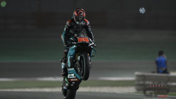 "MotoGP: Quartararo: ""Tomorrow? I'll turn my brain off like today"""