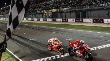 MotoGP: Le gare diventano sprint, mai visti distacchi così ridotti