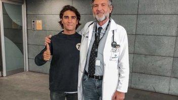 Moto3: Arenas in pista a Jerez. Il suo medico invece...no!