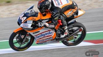 Moto3: Canet fa esultare Biaggi, Migno sul podio