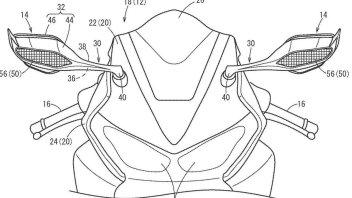 News Prodotto: Honda CBR: alette di estremità sugli specchietti